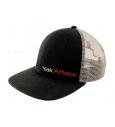 YakAttack BlackPak Trucker Hat - Black/Tan