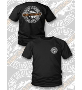 YakAttack Rigging Solutions Tee, Heather Black.