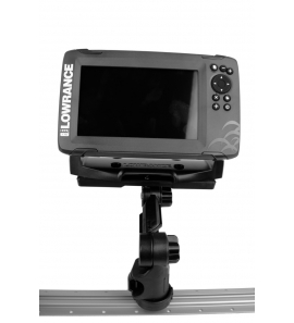 YakAttack Rectangular Fish Finder Mount with Track Mounted LockNLoad™ Mounting System