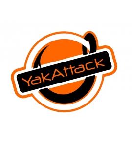YakAttack Get Hooked Matrica 7,5cm