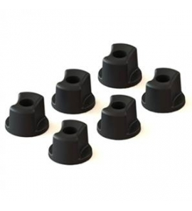 Convertible Knob - 1/4-20 Threads - 6 pack