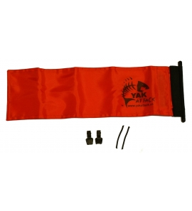 Zászló YakAttack narancs színű