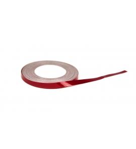 NiteStripe, 5,6mm vörös színű fényvisszaverő csík