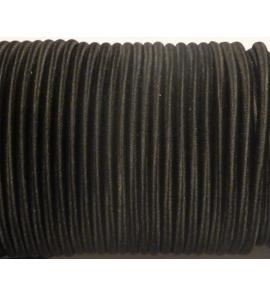 Gumikötél fekete 5mm