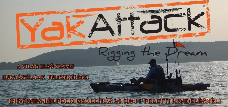 Kajakos, csónakos horgászok webáruháza