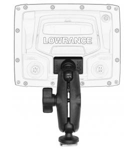 """Halradar monitor tartó Lowrance Elite-5-7 és Mark-5 szériához, 1,5"""" Screwball-al szerelve, MightyMount, GearTrac bázishoz"""