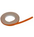 NiteStripe, 5,6mm széles narancs színű fényvisszaverő csík