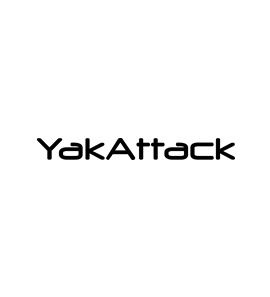 """18"""" YakAttack Decal White"""