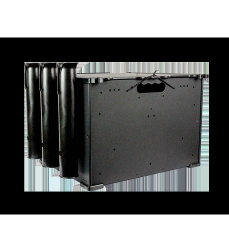 BlackPak Black, incl. 3 rod holders