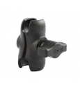 "RAM short (2.5"" length) composite double socket arm for 1"" ball interface"