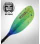Werner Shuna Hooked Adjustable Paddle Catch Lime Drift