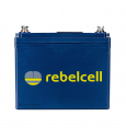 Rebelcell 12V 50A Battery with Charger