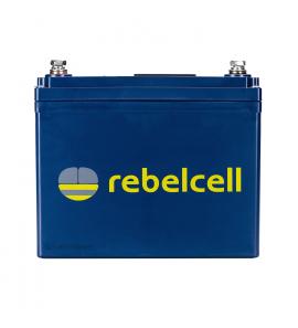Rebelcell 12V 50A Akkumulátor + 10A töltő