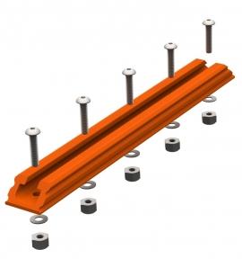 GearTrac, SpectraLite Narancs 20cm