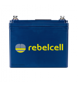 Rebelcell 12V 35A Akkumulátor + 10A töltő