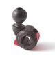 "Hobie 1,5"" Ram Ball H-Rail Adapter"