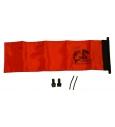 YakAttack Orange ProGlo Flag Kit YakAttack